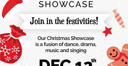 Christmas Showcase 2019 poster