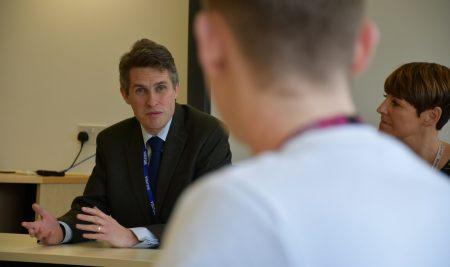 Education Secretary visits