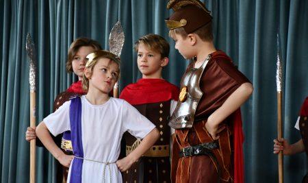 Pupils impress with Roman play