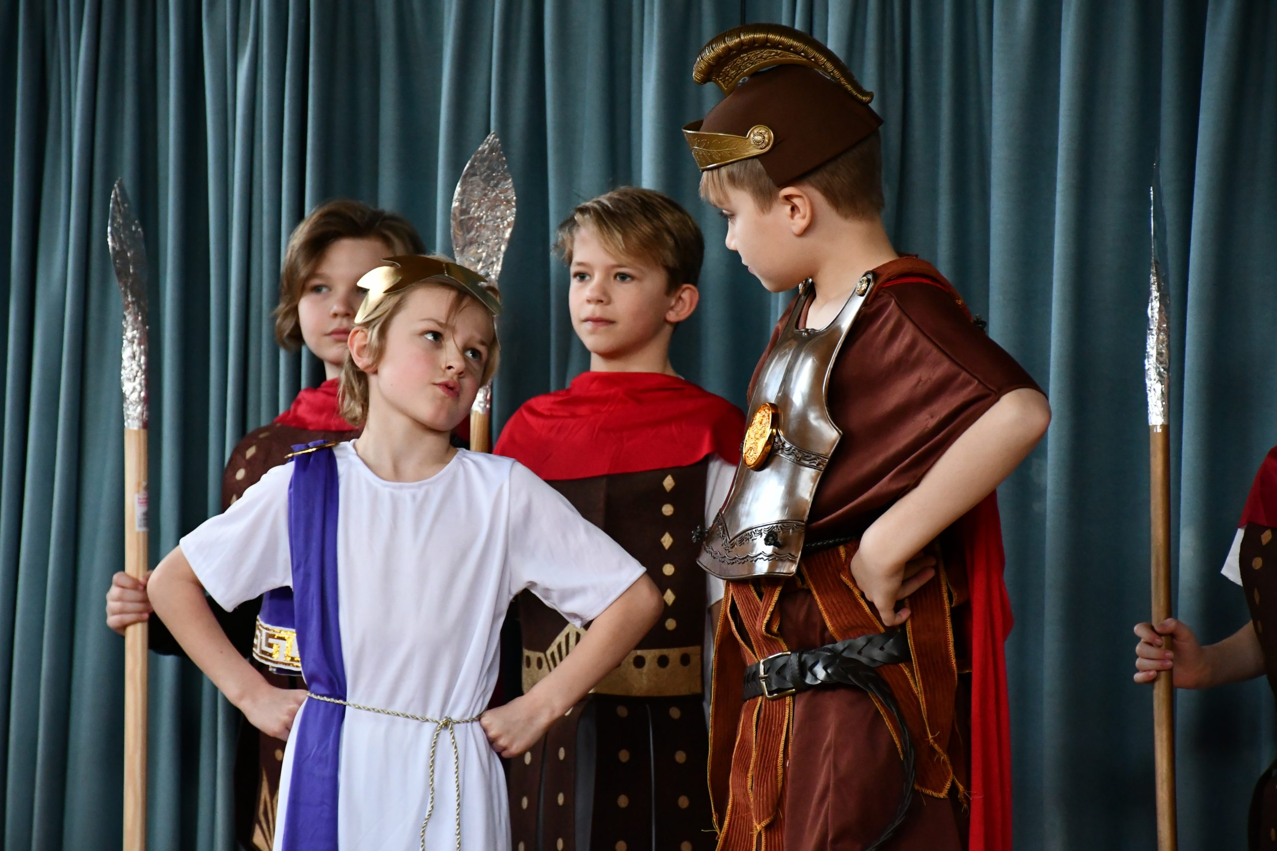 Roman play at St. John's Primary