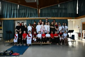 Roman play at St. John's group photo