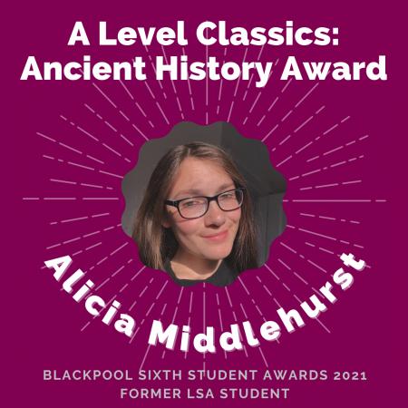 AWARDS 2021 - A Level Classics Ancient History