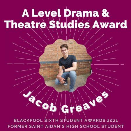 AWARDS 2021 - A Level Drama & Theatre Studies