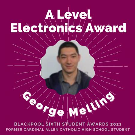 AWARDS 2021 -A Level Electronics
