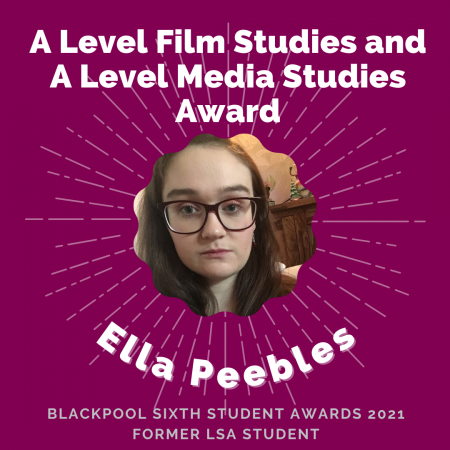 AWARDS 2021 - A Level Film Studies and A Level Media Studies