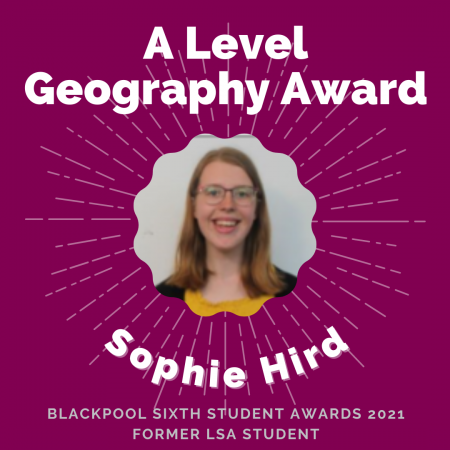 AWARDS 2021 - A Level Geography