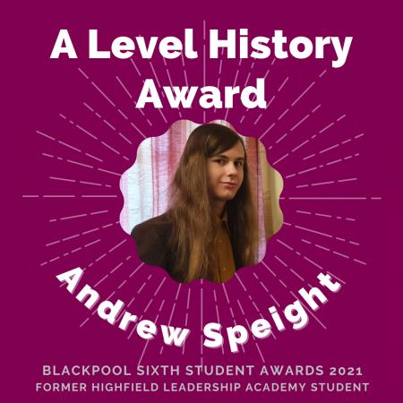 AWARDS 2021 - A Level History
