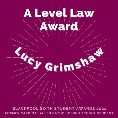 AWARDS 2021 - A Level Law