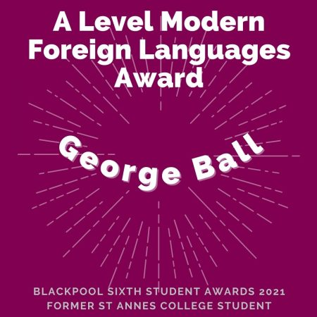 AWARDS 2021 - A Level Modern Foreign Languages