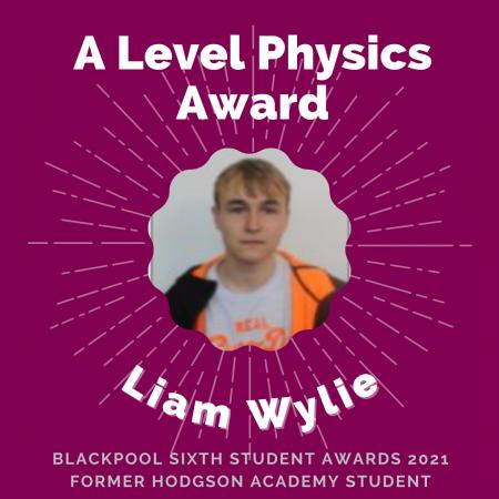 AWARDS 2021 -A Level Physics