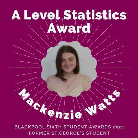AWARDS 2021 - A Level Statistics