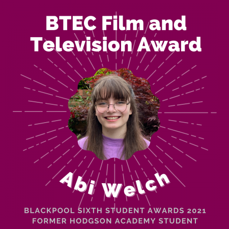 AWARDS 2021 - BTEC Film and Television