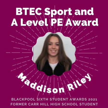 AWARDS 2021 -BTEC Sport and A Level PE