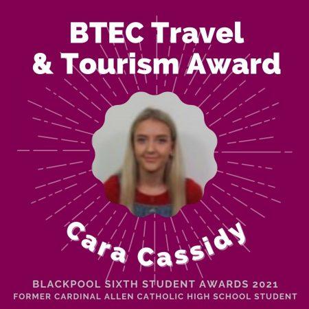 AWARDS 2021 -BTEC Travel & Tourism