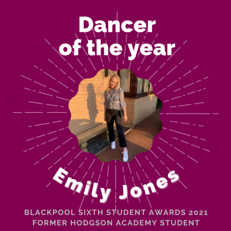AWARDS 2021 -Dancer of the year
