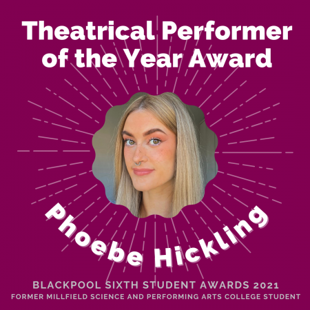 AWARDS 2021 - Theatrical Performer of the Year