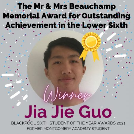 AWARDS 2021_The Mr & Mrs Beauchamp Memorial Award for Outstanding Achievement in the Lower Sixth