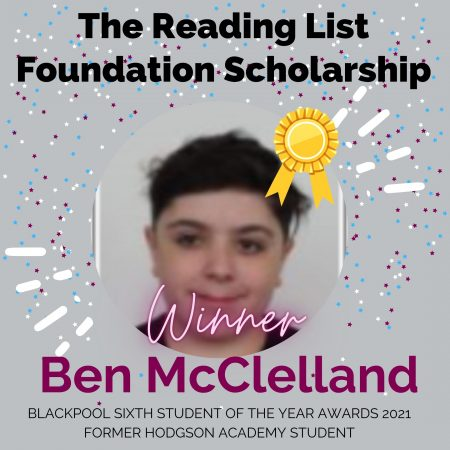 AWARDS 2021_The Reading List Foundation Scholarship
